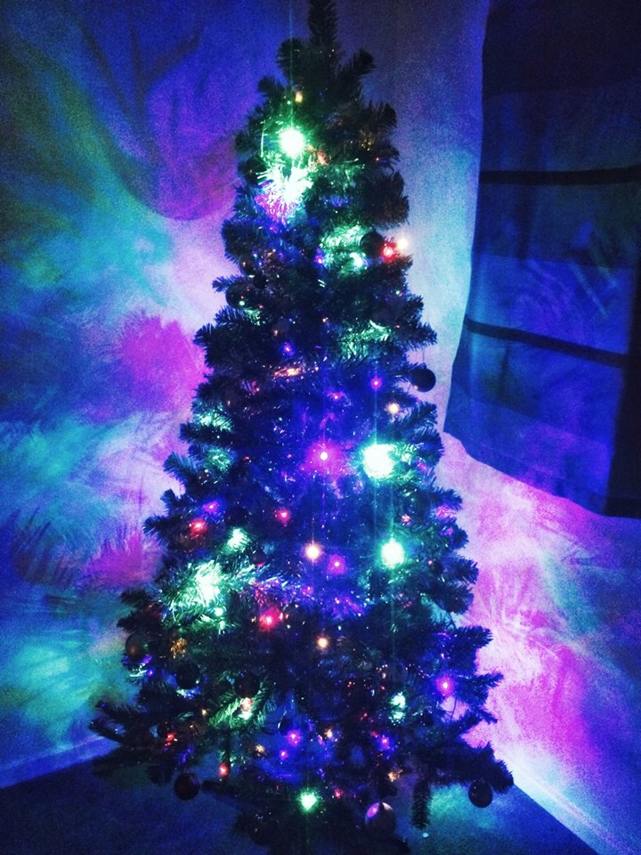 Christmas Tree Multicoloured Lights