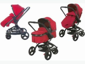 Mothercare Orb Pram in Berry