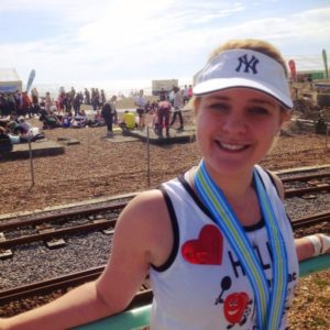 Brighton Marathon Running