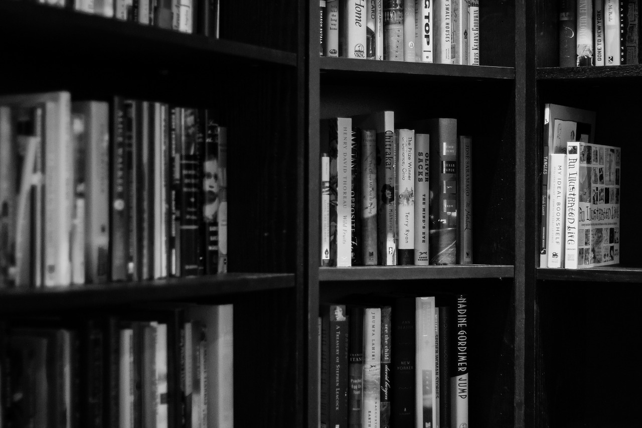 Bookshelves research