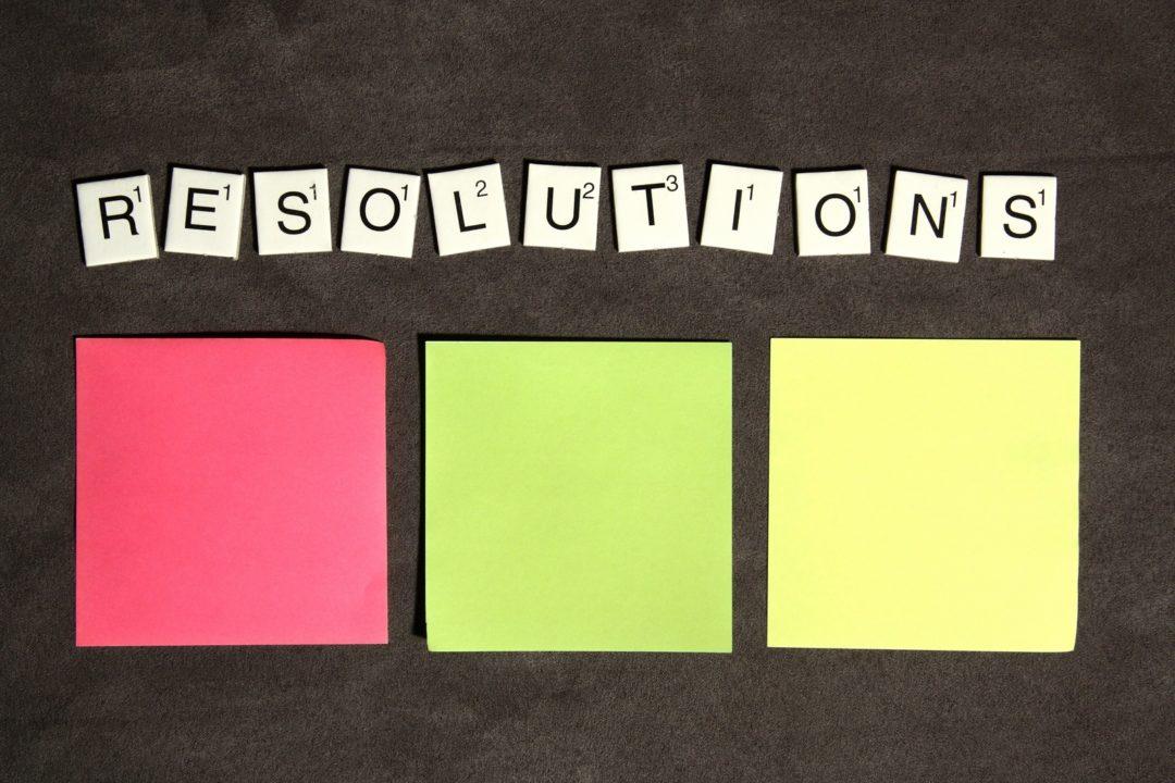 Resolutions Scrabble Tiles