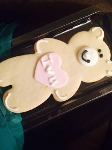 Gingerbread Bear I Love You