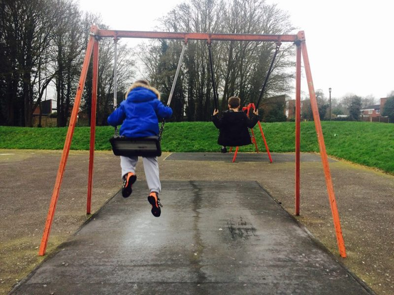 Practice for the future – babysitting the foster boys