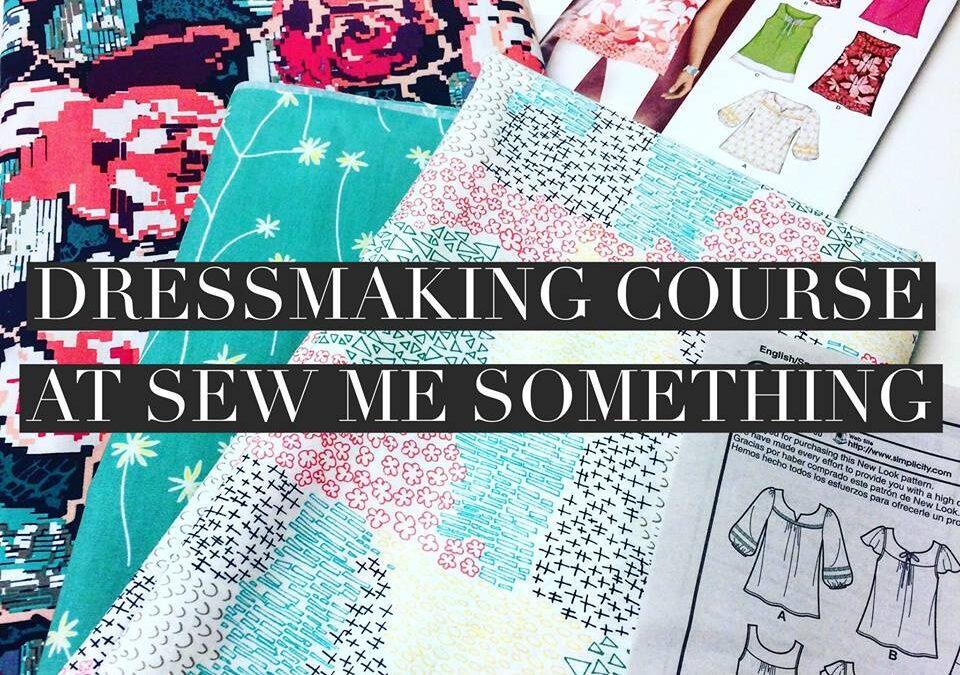 Dressmaking Course – Week One
