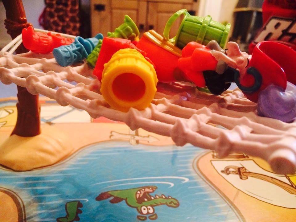 Peter Pan Captain Hook board game