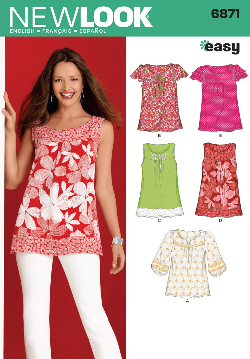 New Look sewing pattern 6871