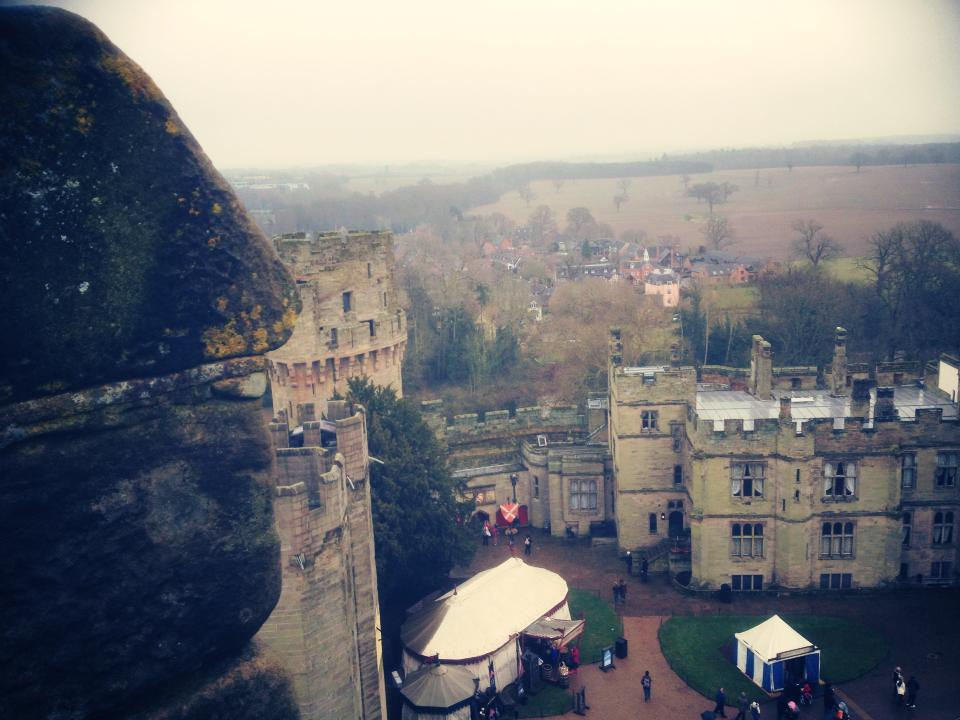 Warwick Castle running