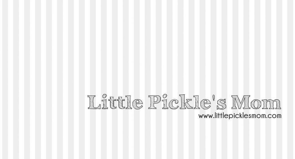 Exciting News: LittlePicklesMom.com