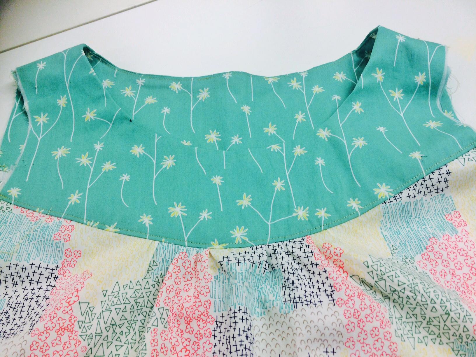 sewing dressmaking neckline