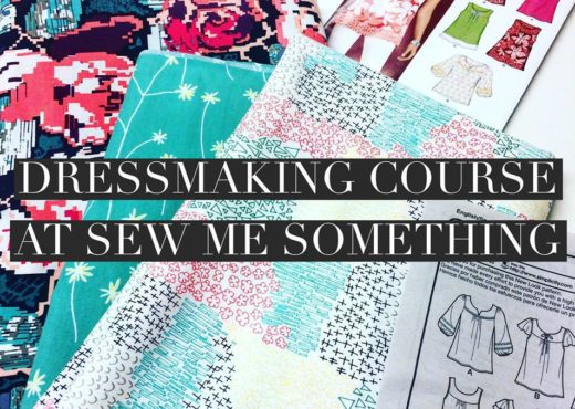 Dressmaking Course at Sew Me Something