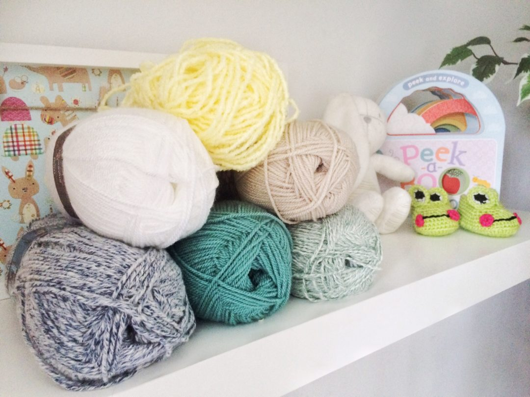 knitting wool colours for baby