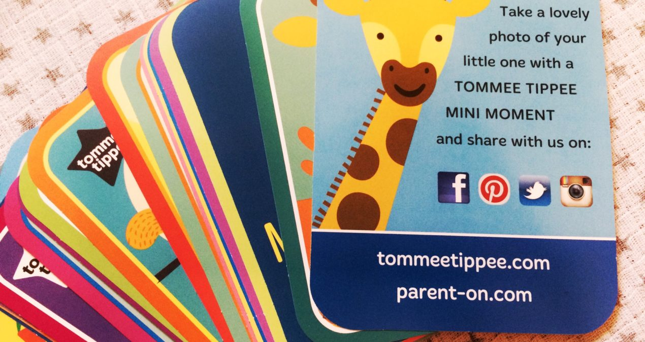 WIN Tommee Tippee #ParentOn Baby Milestone Cards