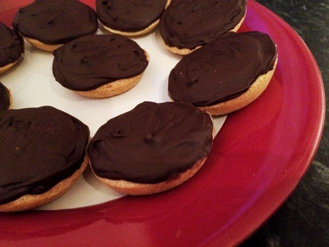 #GBBO Jaffa cakes