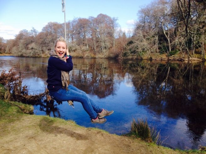 log swing Scotland