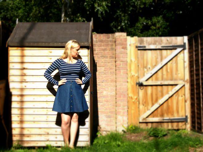 Simplicity 6346 skirt pattern