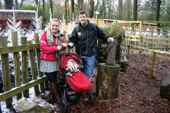 Family portrait at Center Parcs