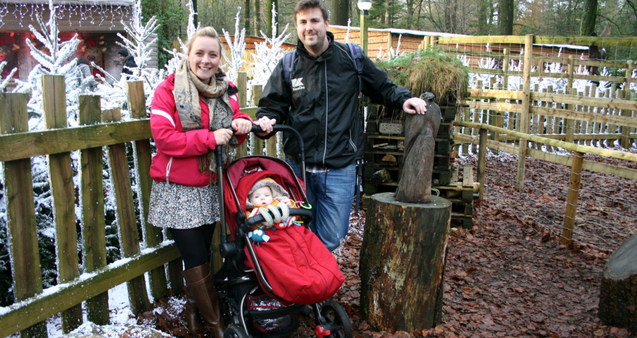 Center Parcs Longleat with Pickle at 6 months old