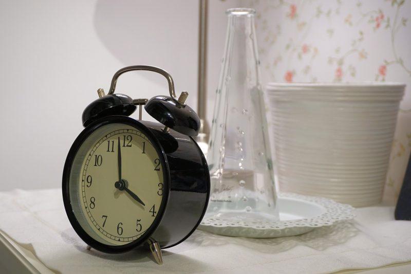 Alarm clock 4am