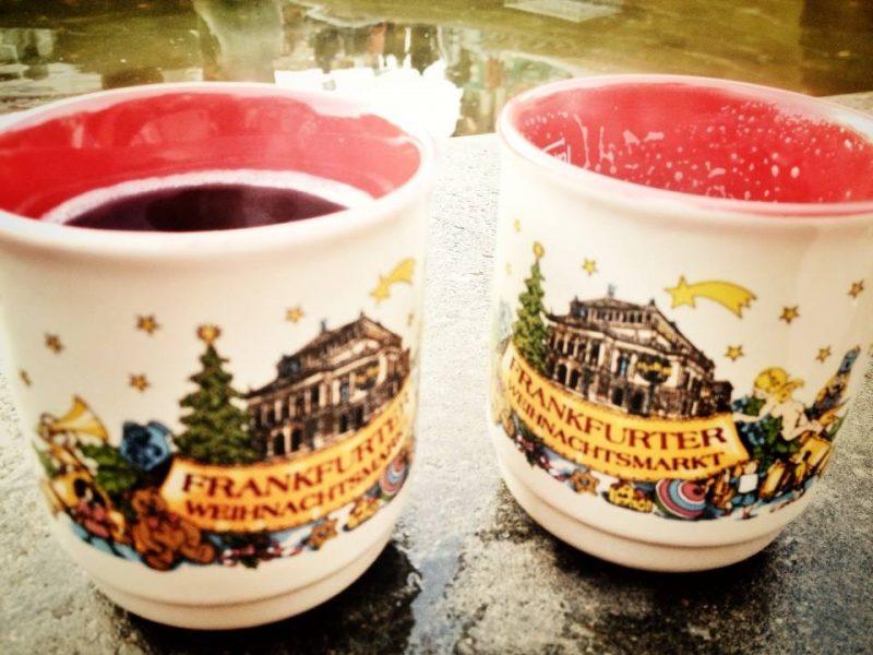 Christmas market mugs