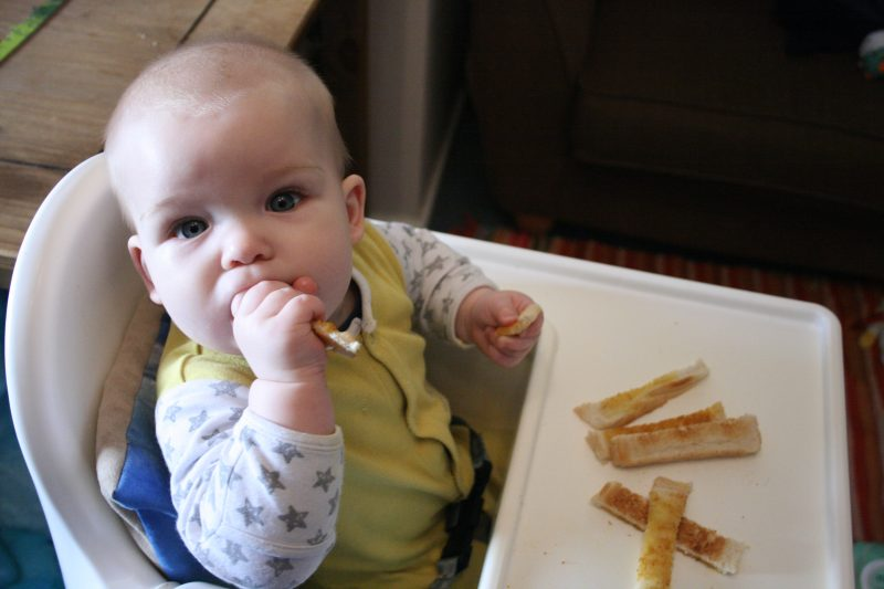 baby breakfast ideas baby led weaning toast