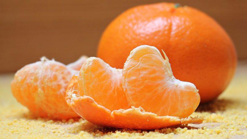tangerine fruit for baby