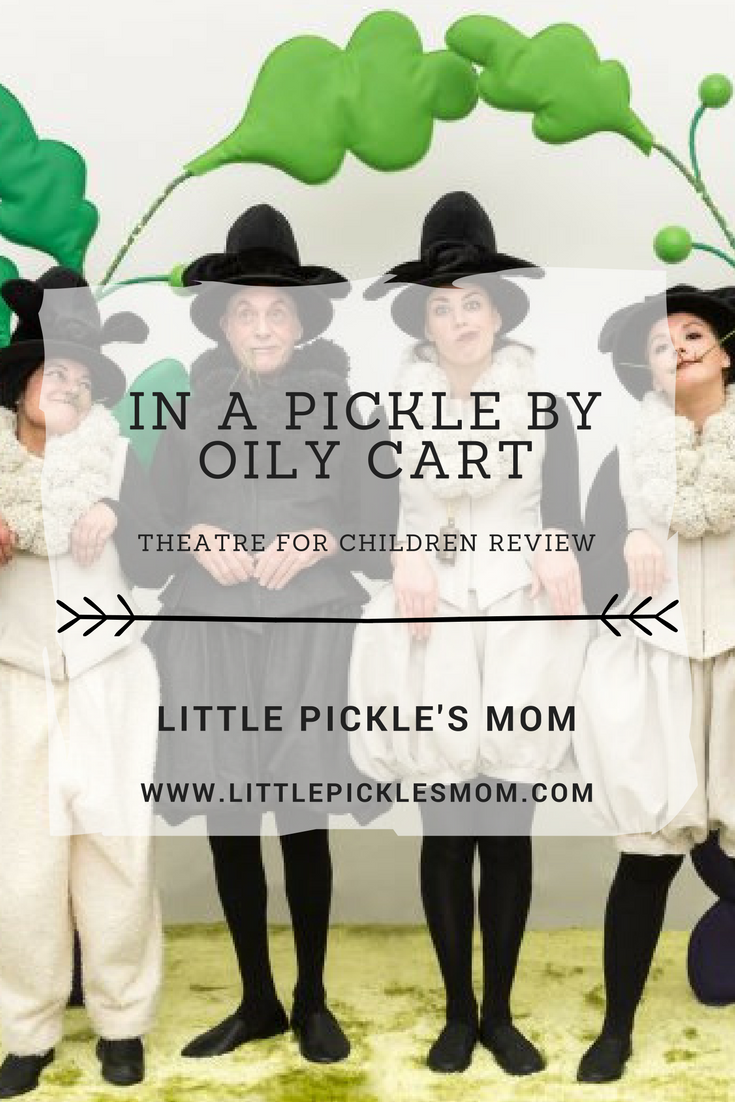 Our review of children's theatre In a Pickle by Oily Cart at Warwick Arts Centre
