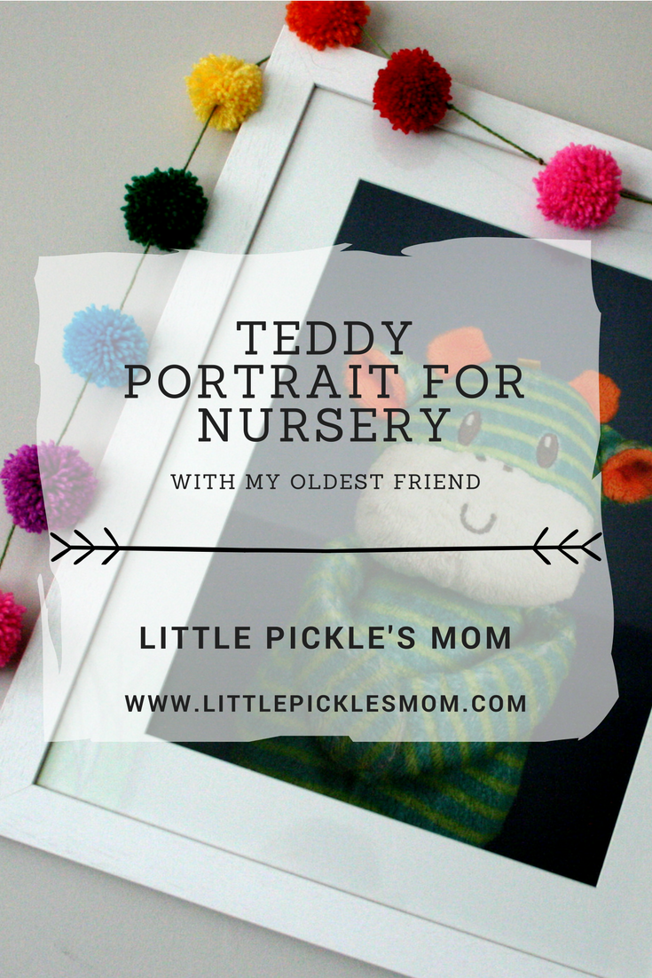 My Oldest Friend creates unique portraits of your child's favourite toy or teddy - perfect for nursery decor. So unique and personal. We LOVE ours.