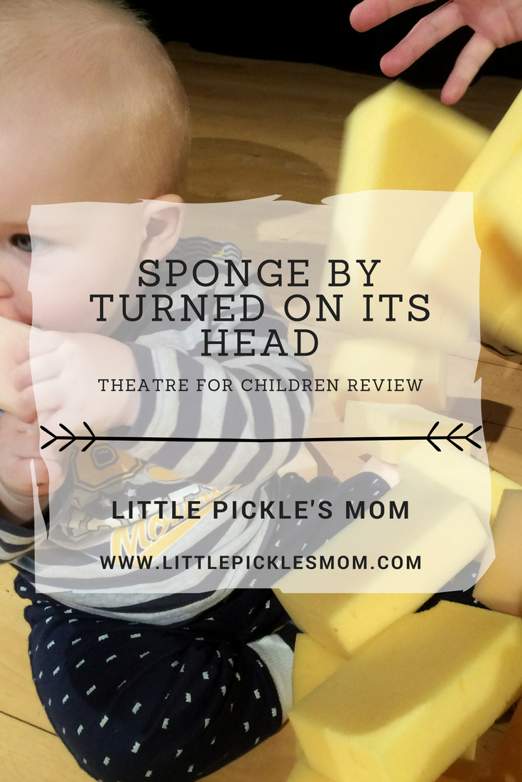 Turned on its Head theatre show for children 'Sponge' is a retro 70s dance filled wonder. Pickle LOVED playing with all the sponges and we had a ball as well. Read my review.