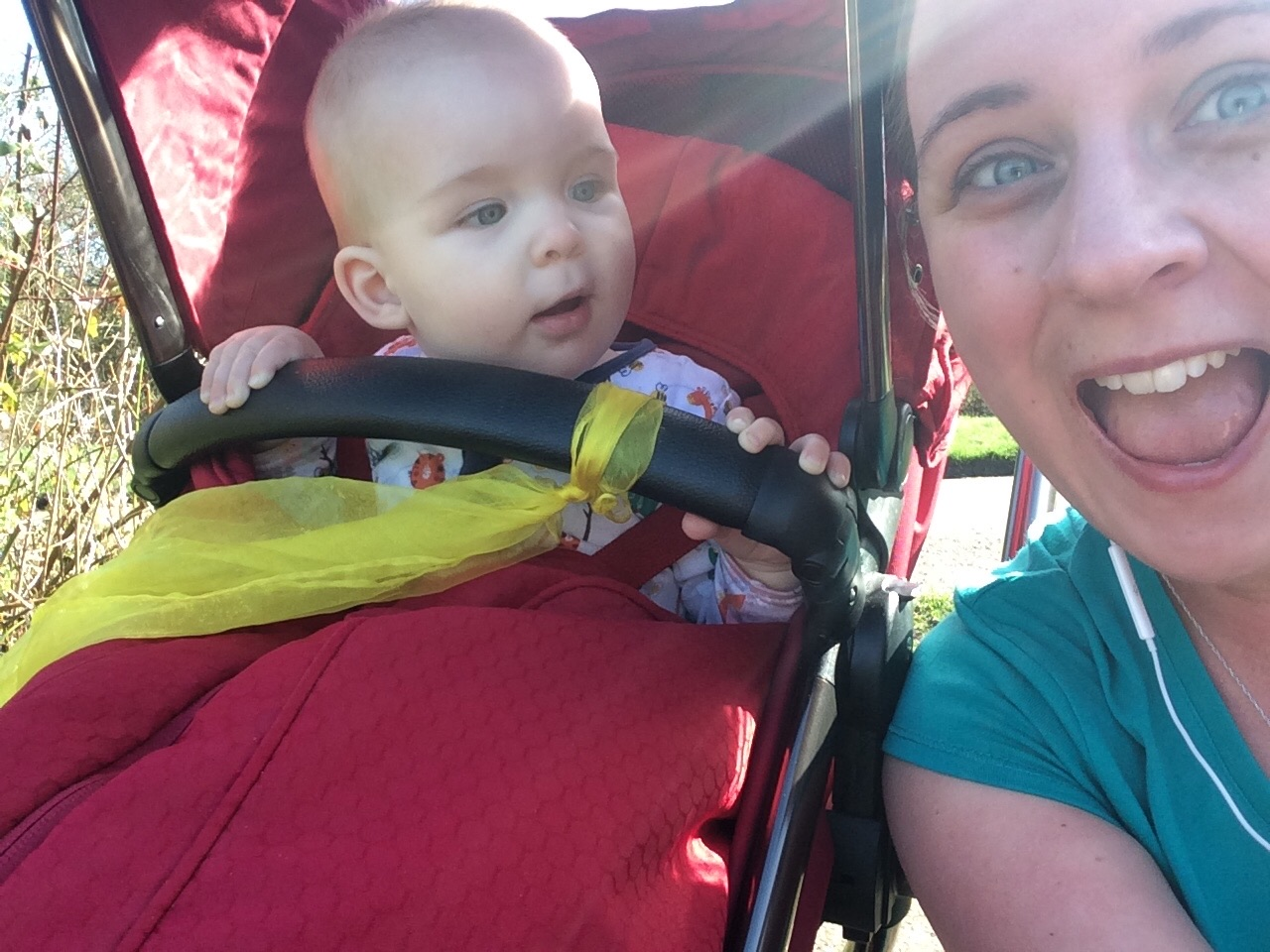 Mommy and Baby post run