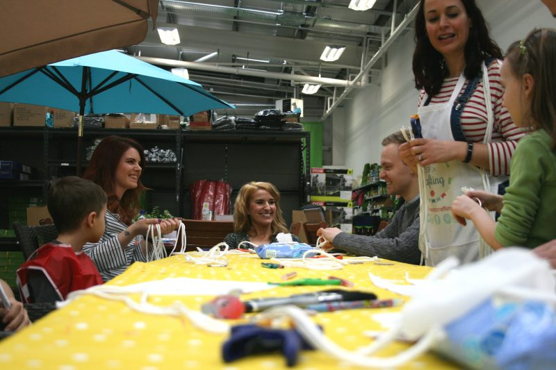 Homebase Mother's Day Craft Event