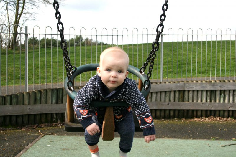 Baby's First Time in Swing