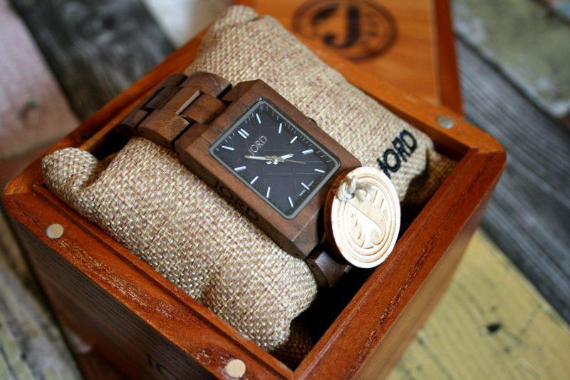 Boxed Jord Wooden Watch Reece