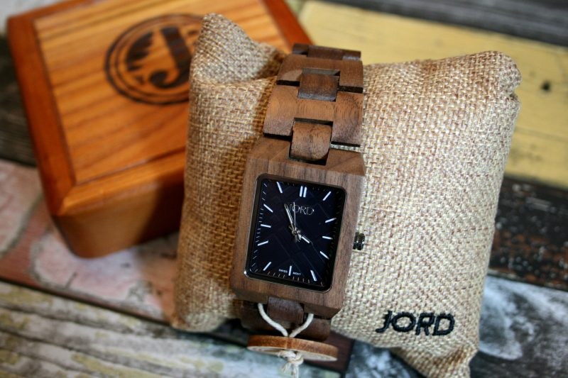 Reece Jord Wooden Watch Walnut
