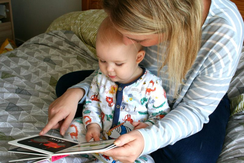Reading With Baby Opposites Book