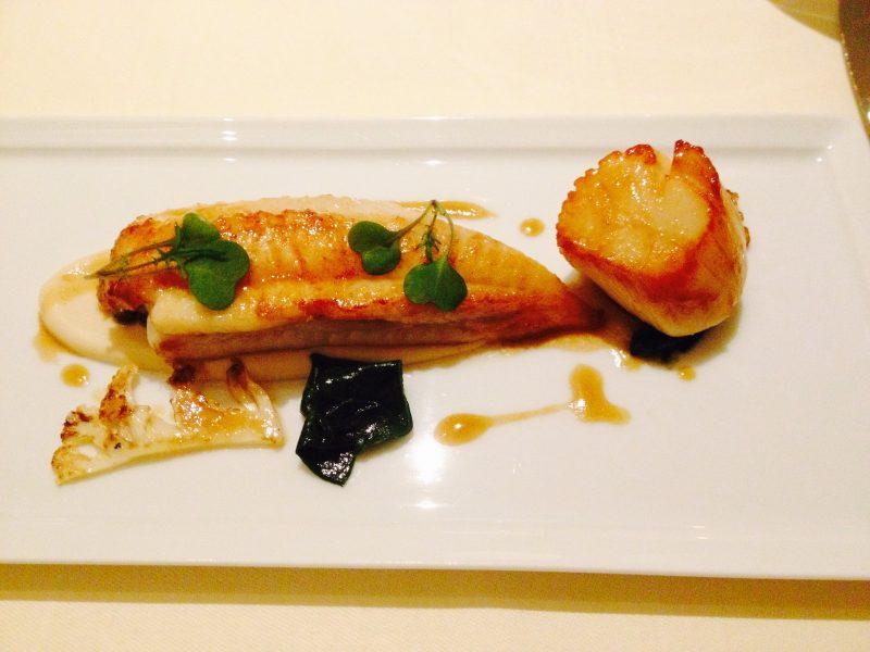 Dinner at Le Manoir