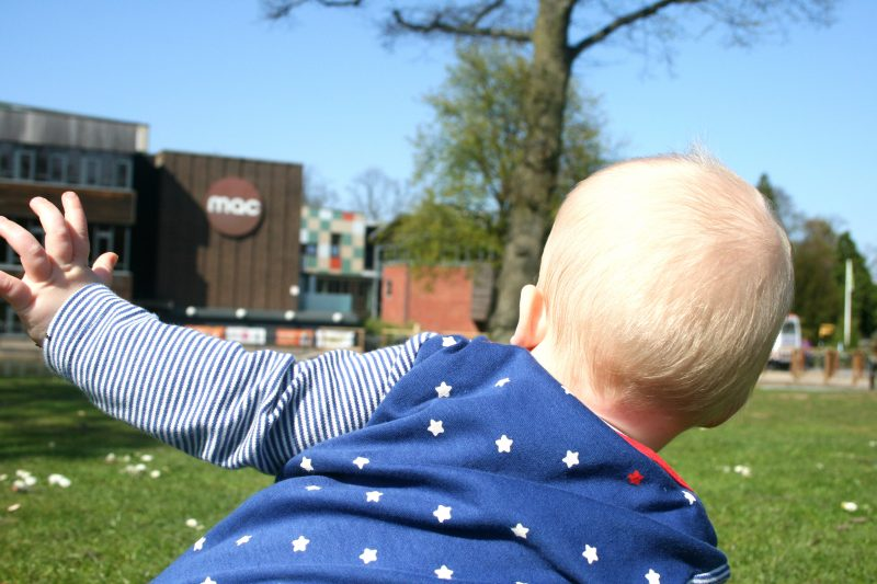 Baby outside mac birmingham Cannon Hill Park