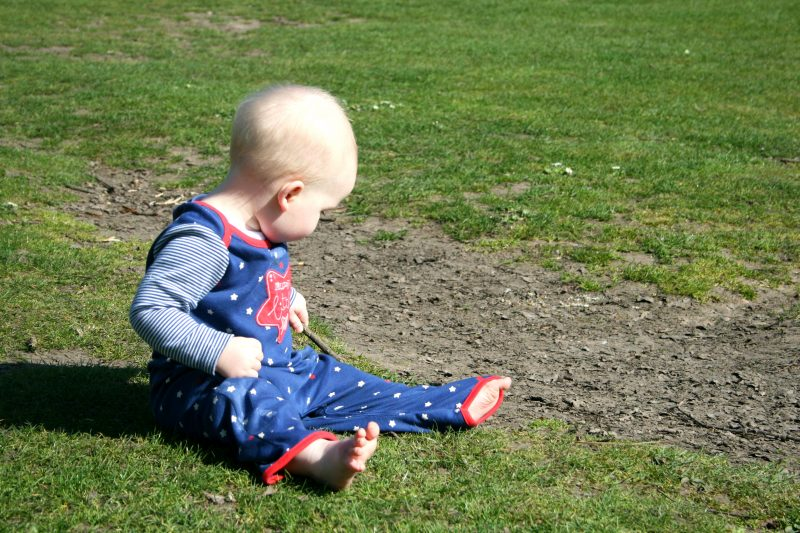 Playing in the dirt Cannon Hill Park