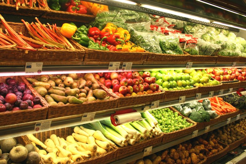 Fruit and Vegetables at Farm Shop