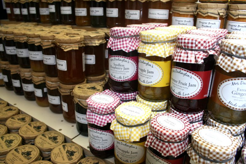Jams and Chutneys Farm Shop