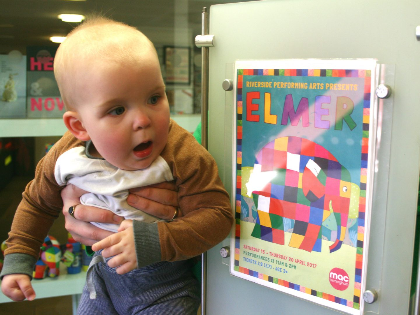 Elmer Poster at mac Birmingham