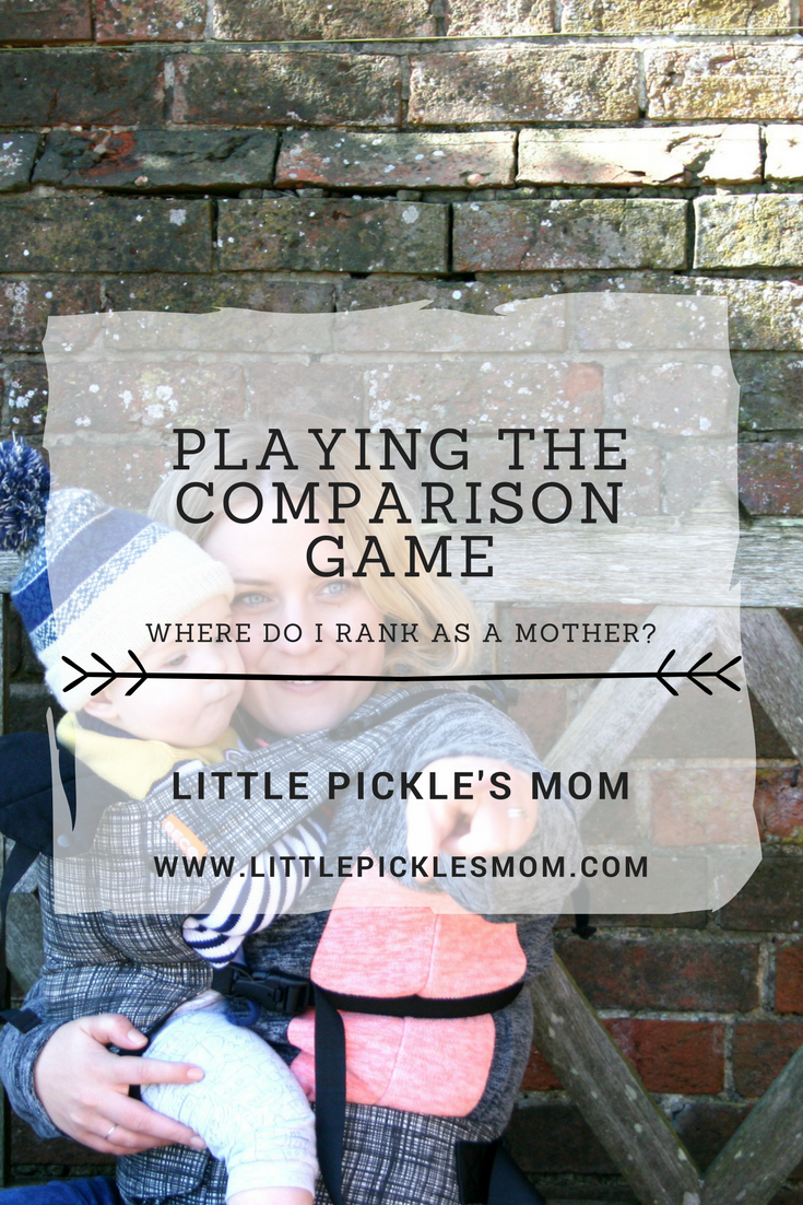 Do you play the Comparison game as a mother? How do you rank? Are you a better mother than me? Let's stop doing this to ourselves.