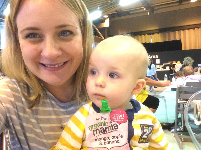 Aldi Mamia Feeding Station at The Baby Show