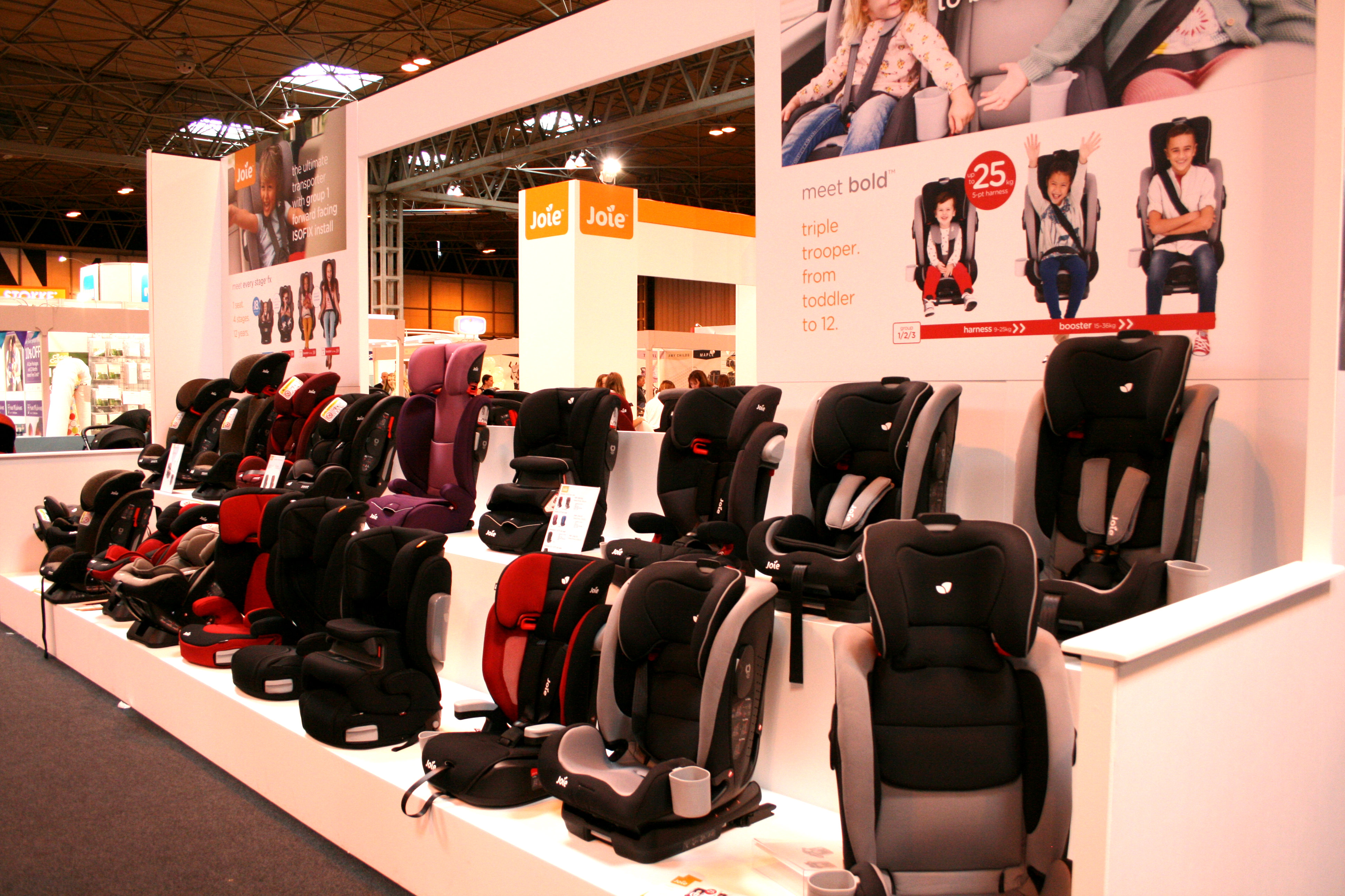 Joie Car Seats at the Baby Show