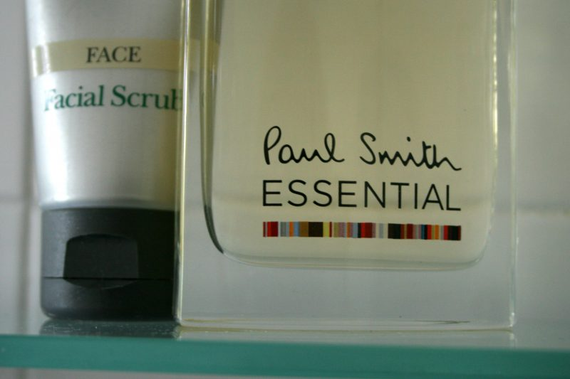 Close up of Paul Smith Essential