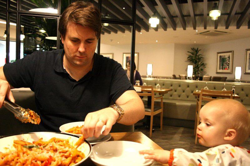 Family Dining at Prezzo La Famiglia