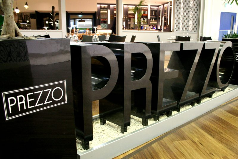 Prezzo Restaurant in Redditch