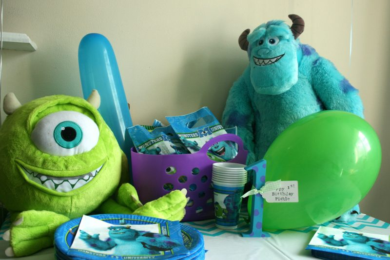 Monsters Inc Partywear from Party Bags and Supplies