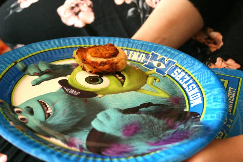 Monsters Inc Paper Plate