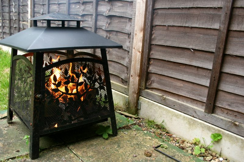 Fire Pit in the Garden