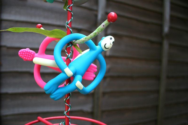 Matchstick Monkey Tree Craft